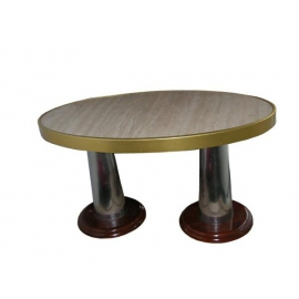 Table ovale paquebot NORWAY