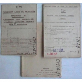Documents techniques du FRANCE