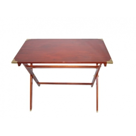 Table pliante en acajou