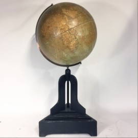 Globe ( big model) with painted wooden base