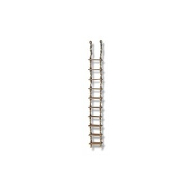 Rope and rope boat ladder