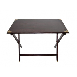 Table pliante en palissandre